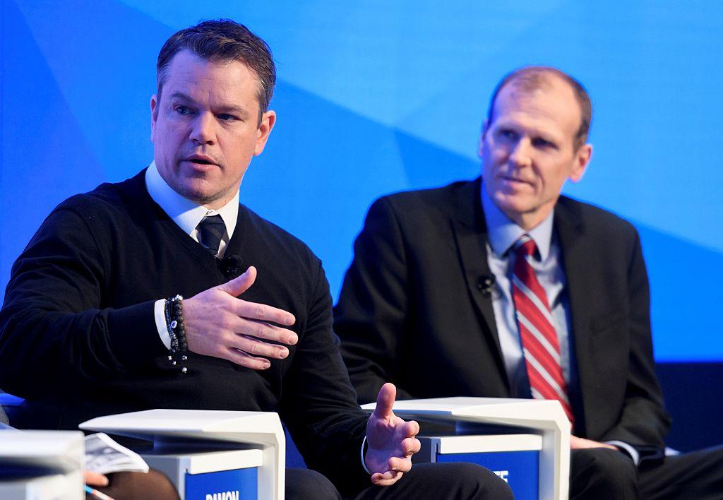 Matt Damon (Photo credit: FABRICE COFFRINI/AFP/Getty Images)