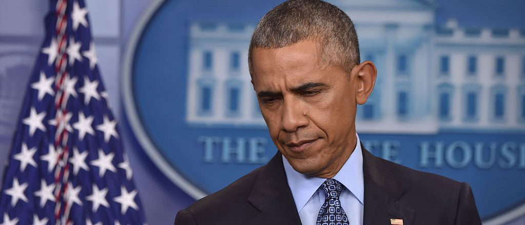 "US President Barack Obama gives his final presidential press conference on January 18, 2017, at the White House in Washington,DC. President Barack Obama Wednesday defended his decision to commute the sentence of WikiLeaks source Chelsea Manning, who is now set for release in May. ""Let's be clear, Chelsea Manning has served a tough prison sentence,"" Obama said, calling the 35-year jail sentence received by the transgender soldier was ""disproportionate relative to what other leakers had received."" ""I feel very comfortable that justice has been served,"" he told his final news conference as US president.  / AFP / Nicholas Kamm        (Photo credit should read NICHOLAS KAMM/AFP/Getty Images)"