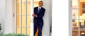 Obama Leaves The Oval Office For The Last Time [VIDEO]