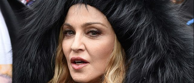 Madonna attends the Women's March on Washington on January 21, 2017 in Washington, D.C. (Photo by Theo Wargo/Getty Images)