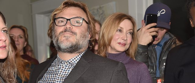 PARK CITY, UT - JANUARY 22: Actors Jack Black (L) and Sharon Lawrence attend the 3rd Annual Horizon Award Presentation at WME Lounge on January 22, 2017 in Park City, Utah. (Photo by Alberto E. Rodriguez/Getty Images)