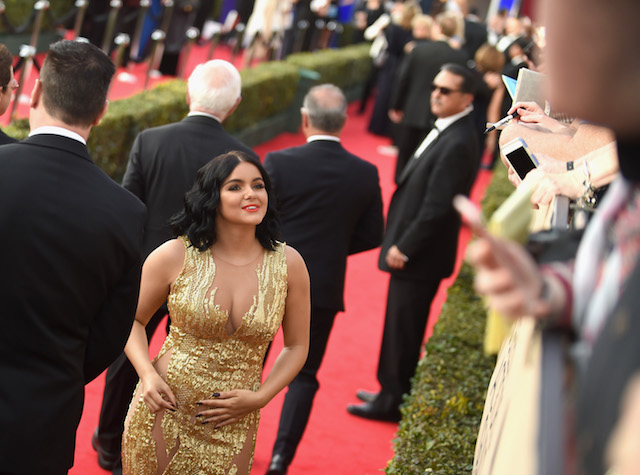 LOS ANGELES, CA - JANUARY 29: Actor Ariel Winter attends The 23rd Annual Screen Actors Guild Awards at The Shrine Auditorium on January 29, 2017 in Los Angeles, California. 26592_016 (Photo by Emma McIntyre/Getty Images for TNT)