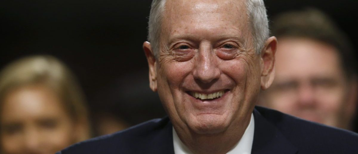 Retired Marine Corps General Mattis (Credit: REUTERS/Jonathan Ernst)