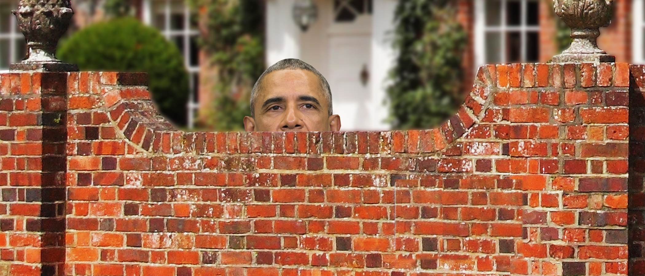 Obamawall by Mike Raust