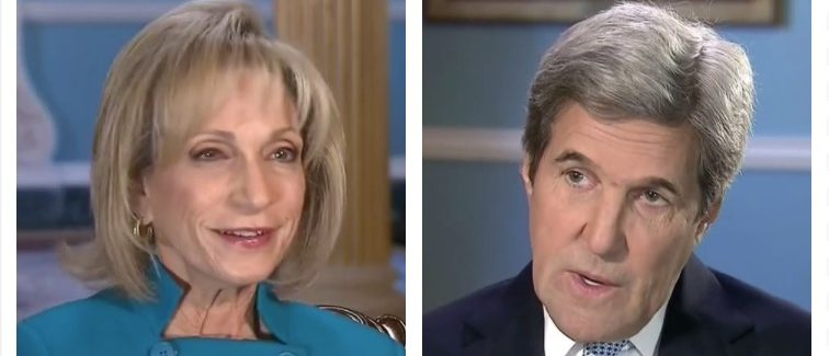 Andrea Mitchell, John Kerry (MSNBC)