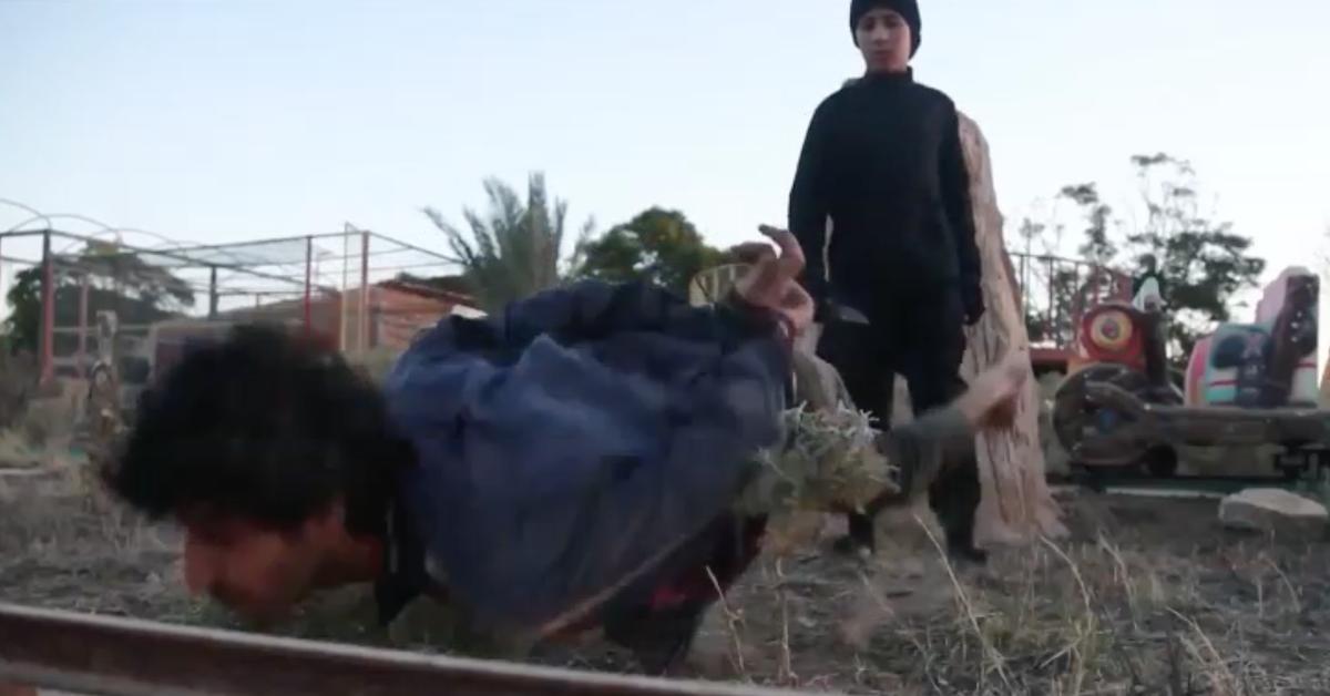 ISIS children (screenshot/ISIS)