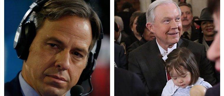 Jake Tapper, Jeff Sessions (Getty Images)