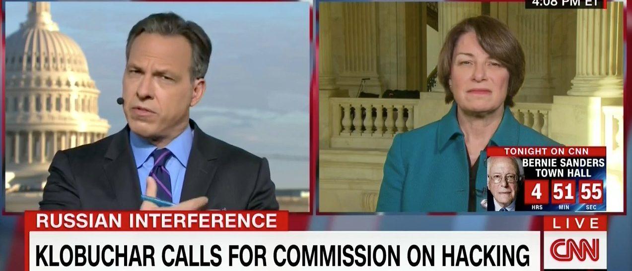 Jake Tapper, Amy Klobuchar (CNN)