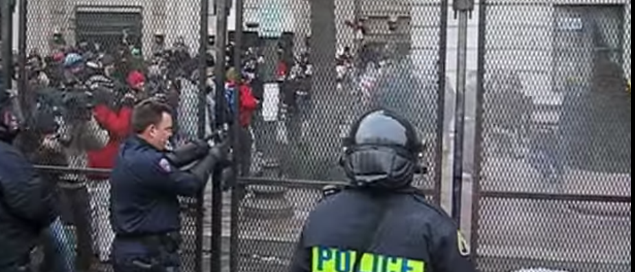 2005 inauguration protests (you tube/ bumba claat screen shot)