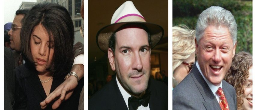 Monica Lewinsky, Matt Drudge, Bill Clinton (Getty Images)