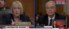 Tom Price, Patty Murray Clash At HHS Hearing [VIDEO]