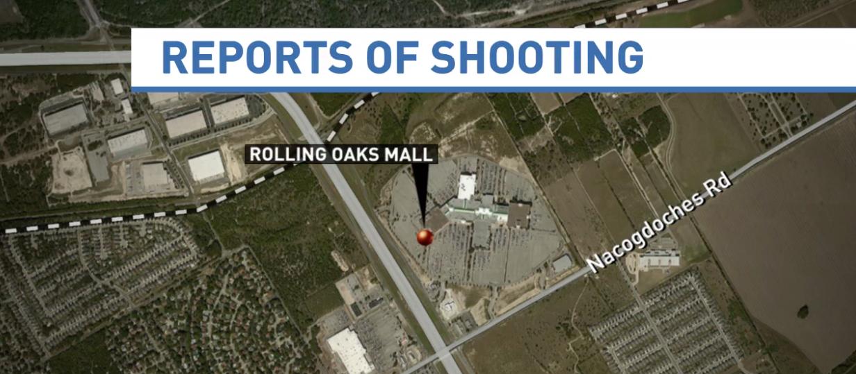 San Antonio 4 Video Screen shot of Rolling Oak Mall