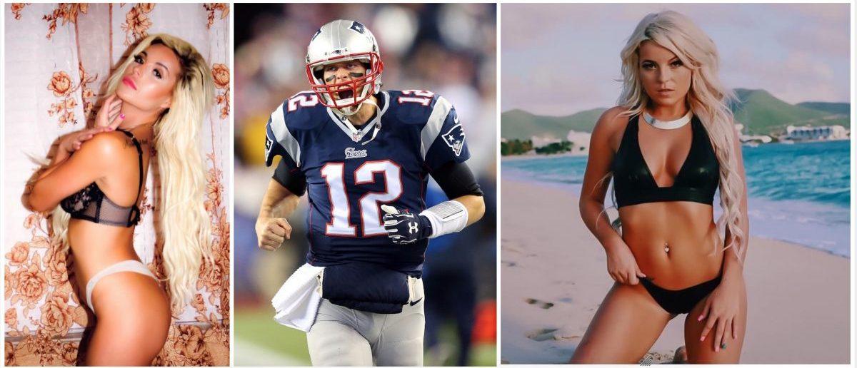 Dallas Nicole, Tom Brady (Credit: Getty Images, Instagram)