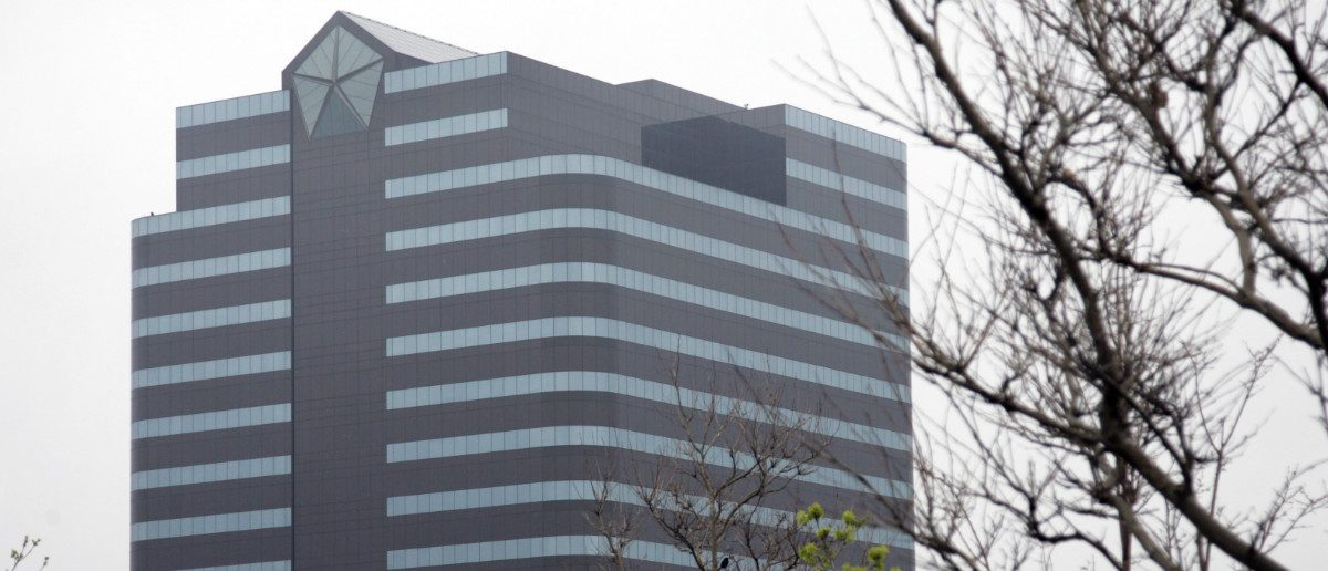 The Chrysler headquarters building is seen in Auburn Hills, Michigan April 30, 2009: REUTERS/Rebecca Cook