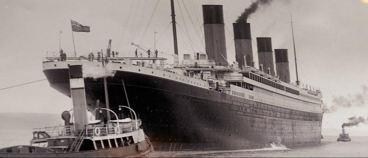 The R.M.S. Titanic: Anton Ivanov/Shutterstock.com