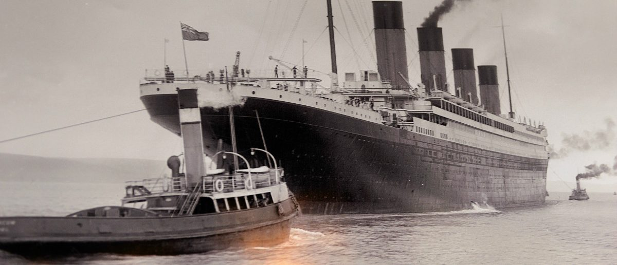 Titanic In 1912: Anton Ivanov/Shutterstock.com