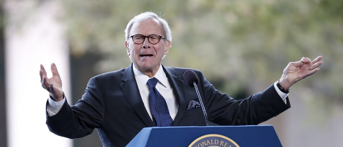 Tom Brokaw (REUTERS/Lucy Nicholson)