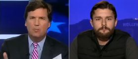 Tucker Exposes Paid Protest Hoaxer Who Fooled The Washington Times [VIDEO]
