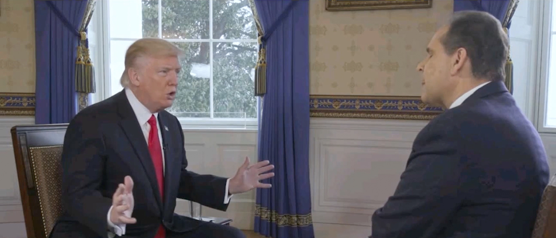 President Donald Trump (CBN Screengrab)