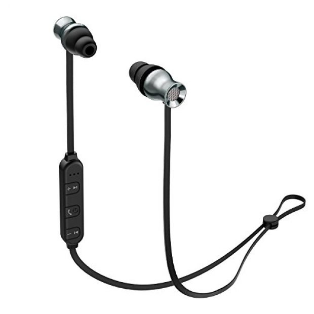 Normally $36, these bluetooth earbuds are 50 percent off with this code (Photo via Amazon)