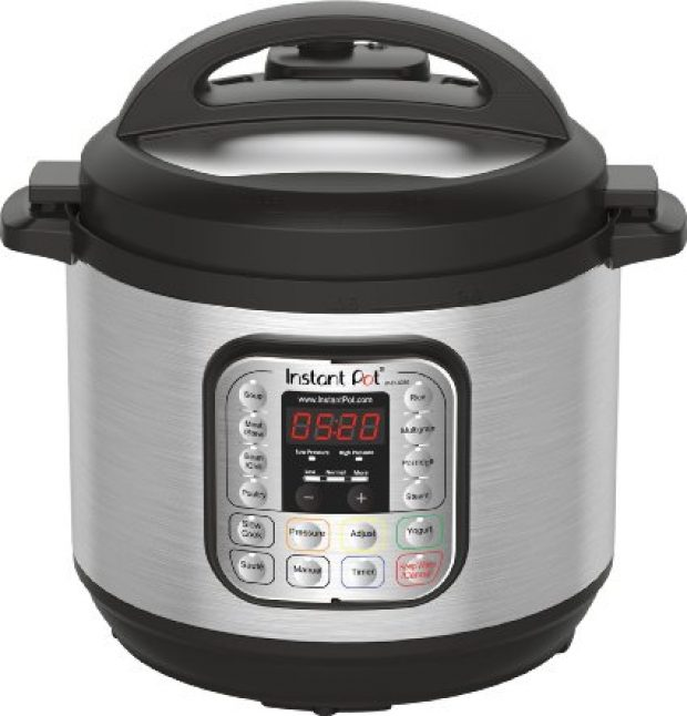 Normally $160, this electric pressure cooker is 30 percent off (Photo via Amazon)