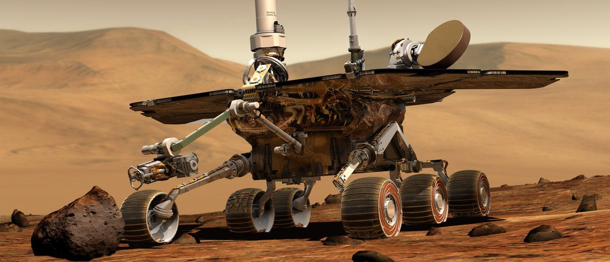 An artist's drawing of NASA's Mars Exploration Rover Spirit is shown in this undated handout. NASA announced May 24, 2011 that it will cease its daily attempts to contact Spirit, a robotic rover on Mars that went incommunicado last year. (REUTERS/NASA/JPL-Caltech/Cornell/Handout)