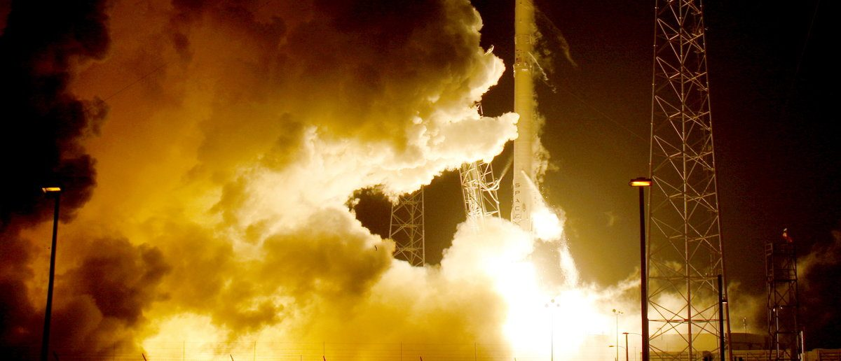 A remodeled version of the SpaceX Falcon 9 rocket lifts off at the Cape Canaveral Air Force Station on the launcher's first mission since a June failure in Cape Canaveral, Florida, December 21, 2015. The rocket carried a payload of eleven satellites owned by Orbcomm, a New Jersey-based communications company. The first stage returned to land following launch. (REUTERS/Joe Skipper)