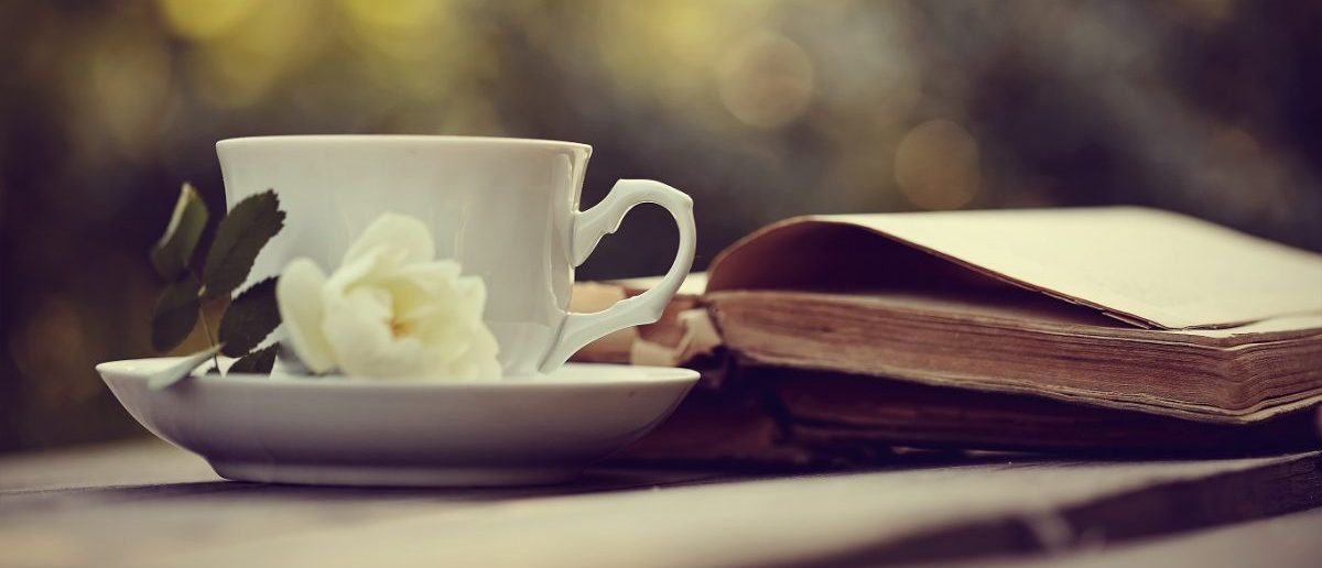 Tea and a book (Credit: Shutterstock)