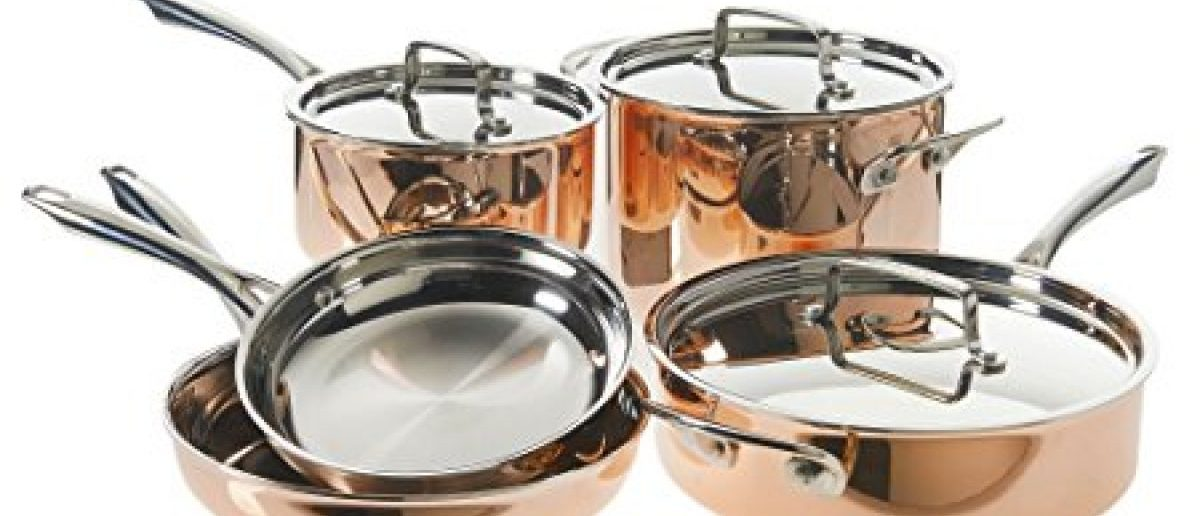 Normally $400, this Tri-Ply cookware set is half off today (Photo via Amazon)