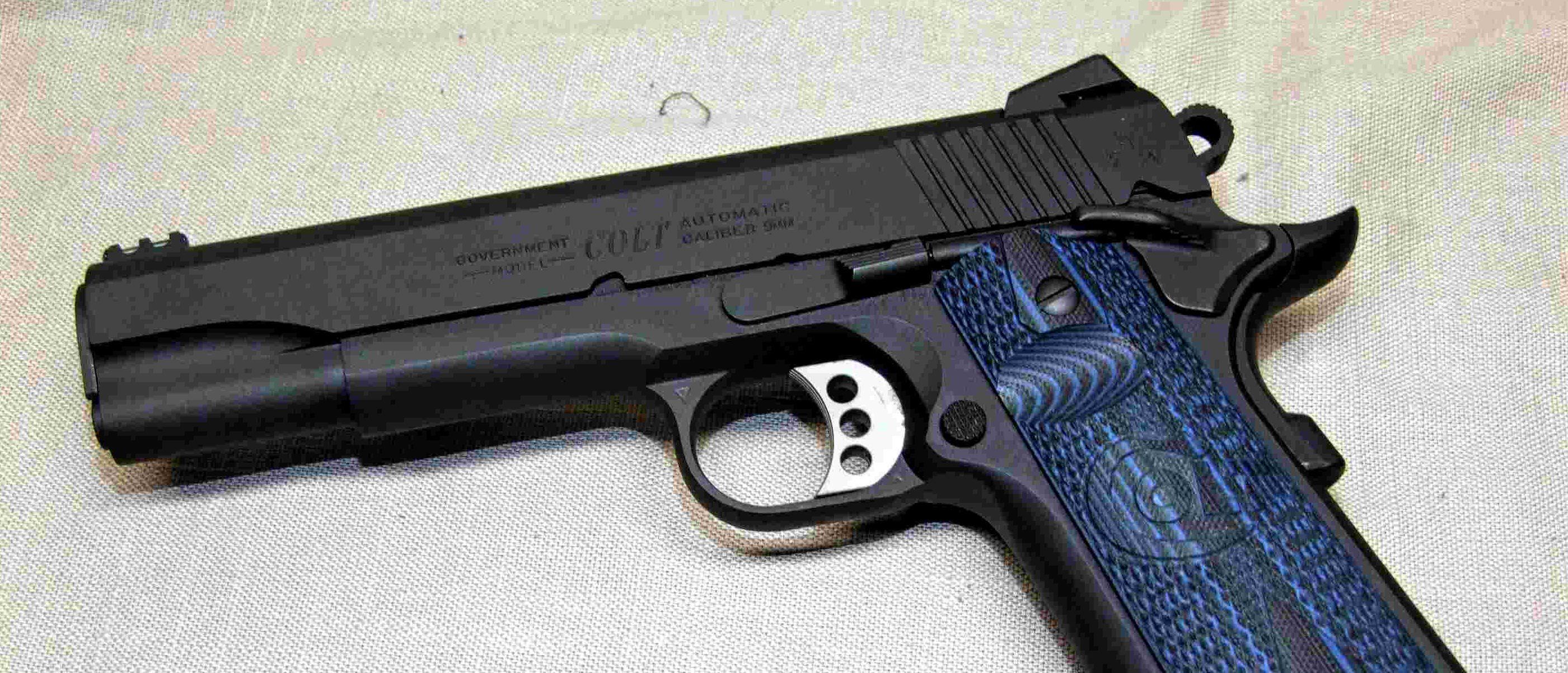 Gun Test Colt Competition Pistol The Daily Caller Model 1911a1 Parts Diagram