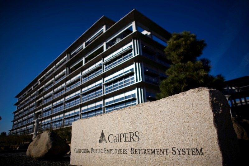 File Photo: Calpers headquarters is seen in Sacramento, California, October 21, 2009. REUTERS/Max Whittaker/File Photo