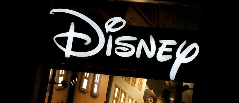 FILE PHOTO - The logo of the Disney store on the Champs Elysee is seen in Paris, France, March 3, 2016. REUTERS/Jacky Naegelen/File Photo