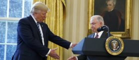 In Attacks On Sessions, Trump Reverses Course On Whether To Prosecute Hillary