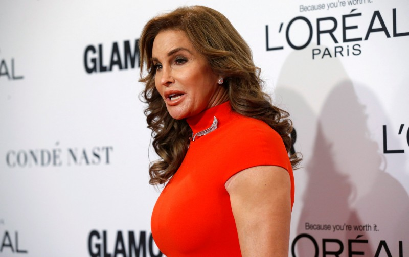 FILE PHOTO - Caitlyn Jenner poses at the Glamour Women of the Year Awards in Los Angeles, California U.S. on November 14, 2016. REUTERS/Mario Anzuoni/File Photo