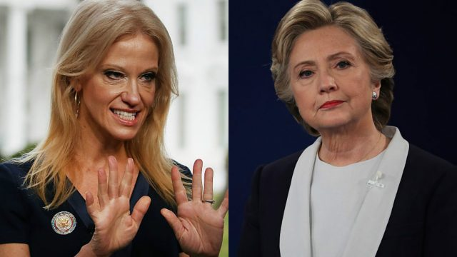 Kellyanne Conway Fires Back at Hillary Clinton's Travel Ban Tweet