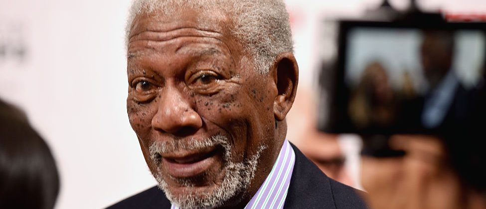 Actor Morgan Freeman attends AARP's Movie For GrownUps Awards at the Beverly Wilshire Four Seasons Hotel on February 8, 2016 in Beverly Hills, California. (Photo by Earl Gibson III/Getty Images)