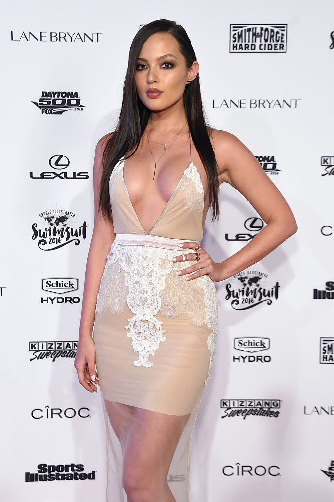 Model Mia Kang attends the Sports Illustrated Swimsuit 2016 - NYC VIP press event on February 16, 2016 in New York City. (Photo by Jamie McCarthy/Getty Images for Sports Illustrated)
