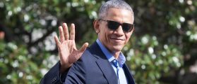 Barack Obama Got Cheered Like He Was A Rockstar In New York Today