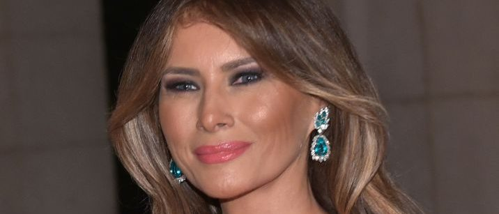 First Lady Melania Trump arrives for the 60th Annual Red Cross Gala at his Mar-a-Lago estate in Palm Beach on February 4, 2017. (Photo credit: MANDEL NGAN/AFP/Getty Images)