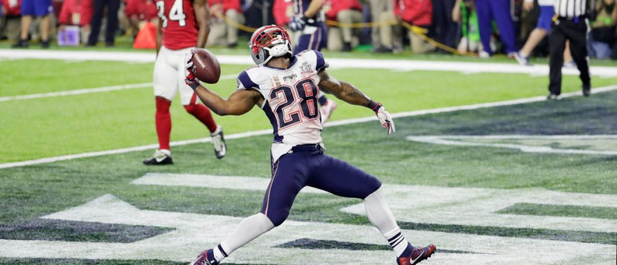 James White (Credit: Getty Images/Jamie Squire)