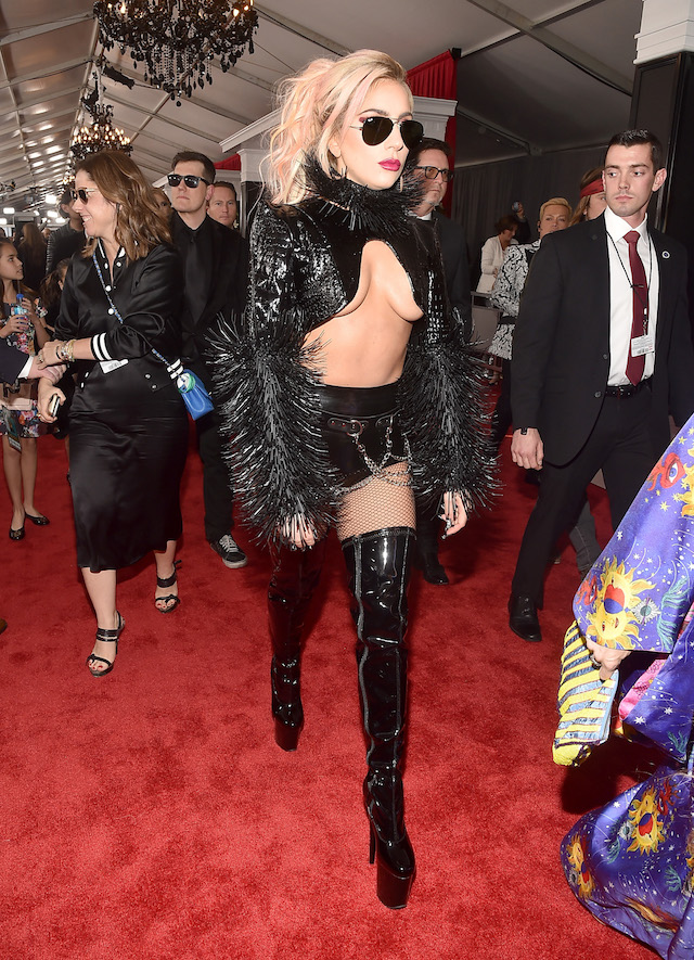 LOS ANGELES, CA - FEBRUARY 12: Musician Lady Gaga attends The 59th GRAMMY Awards at STAPLES Center on February 12, 2017 in Los Angeles, California. (Photo by Alberto E. Rodriguez/Getty Images for NARAS)
