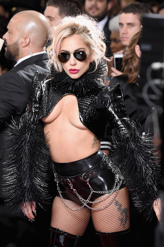LOS ANGELES, CA - FEBRUARY 12: Singer Lady Gaga attends The 59th GRAMMY Awards at STAPLES Center on February 12, 2017 in Los Angeles, California. (Photo by Frazer Harrison/Getty Images)