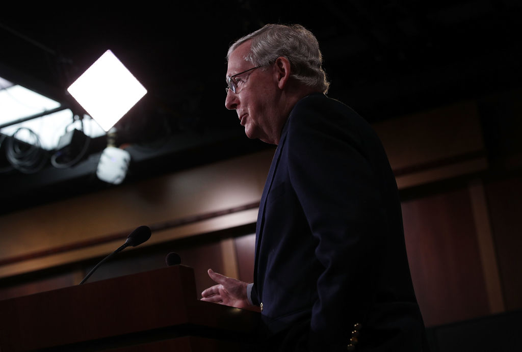 Mitch McConnell (Getty Images)