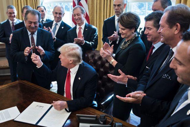 Trump Orders Agencies To Create 'Regulatory Reform' Task Forces