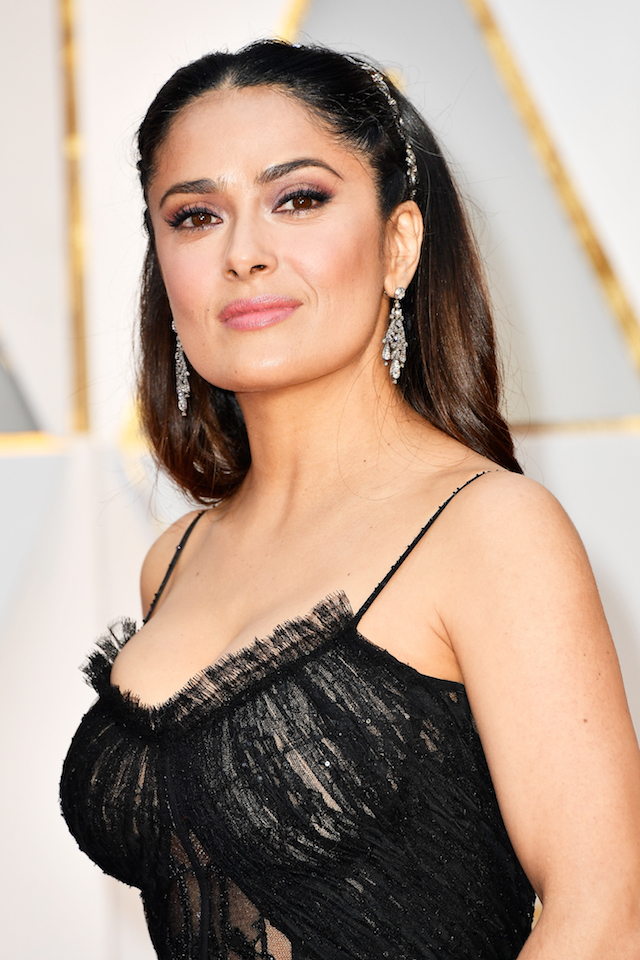 HOLLYWOOD, CA - FEBRUARY 26: Actor Salma Hayek attends the 89th Annual Academy Awards at Hollywood & Highland Center on February 26, 2017 in Hollywood, California. (Photo by Frazer Harrison/Getty Images)