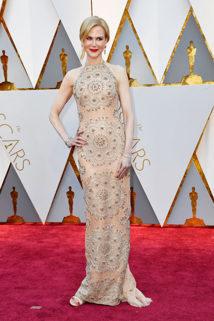 Nicole Kidman attends the 89th Annual Academy Awards. (Photo by Frazer Harrison/Getty Images)