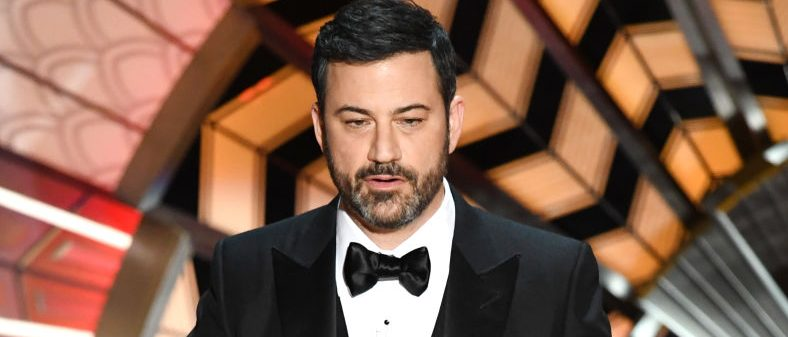 HOLLYWOOD, CA - FEBRUARY 26: Host Jimmy Kimmel speaks onstage during the 89th Annual Academy Awards at Hollywood & Highland Center on February 26, 2017 in Hollywood, California. (Photo by Kevin Winter/Getty Images)