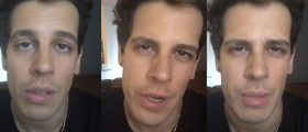 Screengrabs From Milo's FB Live