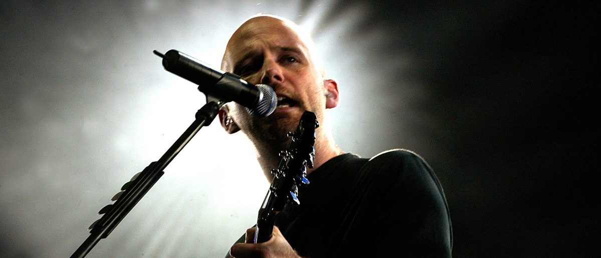 U.S. musician Moby performs during a concert at Palace of the Sports in Mexico City September 6, 2005. (Photo: REUTERS/Henry Romero )