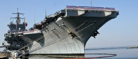 How Does The Navy Dismantle Its First Nuclear Aircraft Carrier?